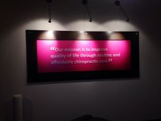 Clinic's sign http://chiropractorphoenix-thejoint.com/introductory-offer/?utm_source=Pinterest.com