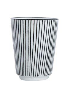 Pen Stripe By Hand Becher Streifen vertikal One Size