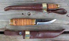 Finnish Aito Puukko hunting/all-purpose knife