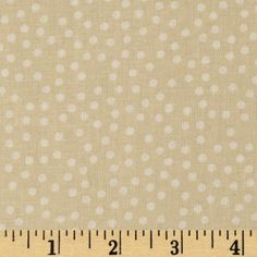 Buggy Barn 108' Wide Quilt Backing Dot Tan
