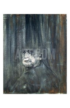 Head, c.1949 Art Print by Francis Bacon at Art.com