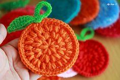오렌지 코바늘 수세미 도안,동영상!~수세미뜨기도안,코바늘기초,Crochet knitted orange sponges  http://blog.naver.com/ssanta302/20196826952  마이홈 스카의 소소한 취미공간 http://blog.naver.com/ssanta