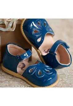 Livie and Luca - Petal Pat shoes in Ocean Special Edition Holiday.