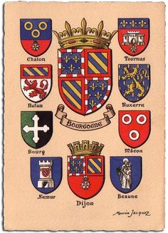 Boulevard Des Capucines, Medieval Shields, Rome Antique, Ville France, Coat Of Arms, Porsche Logo, Middle Ages, Knight, Badge