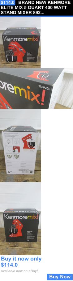Small Kitchen Appliances: Brand New Kenmore Elite Mix 5 Quart 400 Watt Stand Mixer 89208 BUY IT NOW ONLY: $114.0