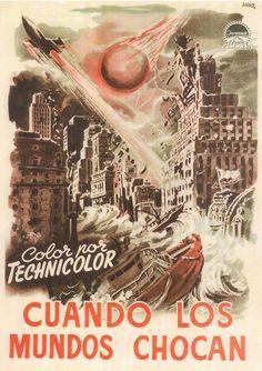 When Worlds Collide (Spanish) 27x40 Movie Poster (1951)
