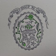 2nd color on our 2013 letterpress calendar