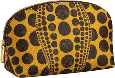 Monogram Pumpkin Dots Pochette Cosmetique Yellow Louis Vuitton and Yayoi Kusama Collection