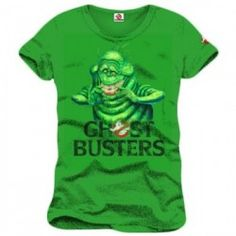 Ghostbusters - Slimer T-Shirt - Green