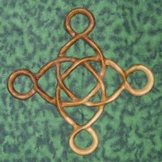 Prosperity Knot-Abundance and Well-Being-Celtic Wood Carving MEANING: A wish for prosperity; a healing knot is the center, with four extra loops that convey abundance. This knot is composed of one line with no beginning and no end. The represented total eternal abundance combined with healing and well-being; equals prosperity. This is a piece for a house warming gift, or any new endeavor. $78.00