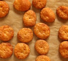 Nope, these are nothing like Cheeze-It crackers. They're crazy-good sharp cheddar cheese crackers by Joy The Baker. She has a printable recipe to make it easy for you. Go see how she made these! They're so much better than anything you would buy in the store.You could season them however you would like, but I'm …