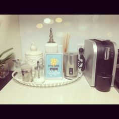 My coffee station