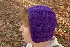 Womens Hand Knit Bonnet by NortherNights on Etsy