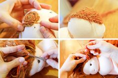 braided doll hair tutorial by sew liberated