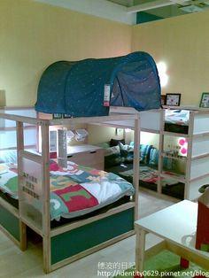 παιδική κουκέτα ikea - ιδέες για το παιδικό δωμάτιο