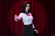 Elizabeth (Bioshock Infinite DLC) by Luna by Lunaritie.deviantart.com on @DeviantArt