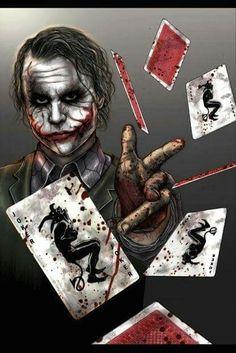 The Joker Batman: The Dark Knight Joker Heath, Le Joker Batman, Joker Y Harley Quinn, Der Joker, Joker Art, Comic Book Characters, Comic Books Art, Comic Art, Joker Images