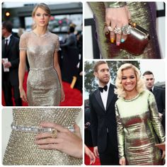 Grammy Gold: Red Carpet Best Dressed with Taylor Swift & Rita Ora- FocusOnStyle.com
