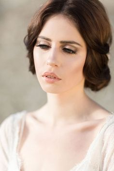 'The Personality of Style' at Caswell House Captured by Jessica Davies Fine Art Photography Bridal Make Up, Wedding Make Up, Wedding Ideas, Jessica Davies, English Country Weddings, Colored Wedding Dress, Blue Eye Makeup, Bridal Shoot, Bridal Beauty