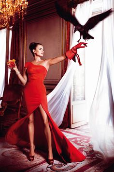 Campari Calendar 2013:  Photo by Kristian Schuller   Starring: Penelope Cruz