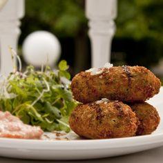 Ham, Corn and Basil Croquettes - chefkevinblakeman.com