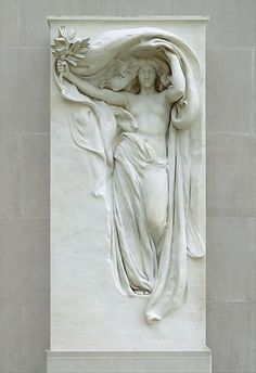 The Metropolitan Museum of Art, New York - Daniel Chester French (American, 1850–1931) | Mourning Victory from the Melvin Memorial | 1906–8, carving 1912–15