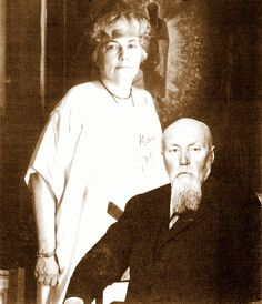 Helena y Nicolás Roërich
