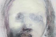 Marlene Dumas - The Woman of Algiers - Olieverf op doek, 2001 (detail)