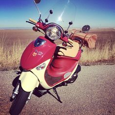 Our Buddy scooter at home roaming the roads. #ScooterLife