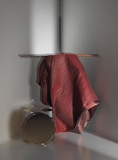 VILLA by Ulf Moritz - Slightly metallic looking plain decorating fabric made of cotton and lurex.