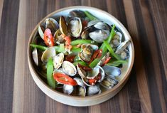 Clams with fermented tofu, chile and celery. Easy, creamy and delicious. Learn about fermented tofu because it's a great Asian ingredient.