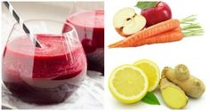 6-INGREDIENT LEMON-GINGER LIVER DETOX JUICE TO STOP YOUR BODY FROM STORING TOXINS IN FAT
