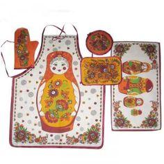 Textile Kitchen Set Matrioshka