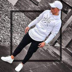 Men S Fashion Advice Key: 1415614045 - Männer mode - Roupas Stylish Mens Outfits, Casual Outfits, Men Casual, Mens Fashion Suits, Mens Clothing Styles, Urban Fashion, Fashion Fashion, Winter Fashion, Streetwear Fashion