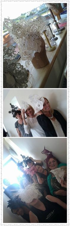 Millinery Master Class in France by Jane Stoddart