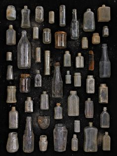 Clear Glass Jars and Bottles - Barry Rosenthal