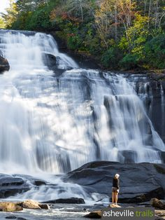 Hike North Carolina's Dupont State Forest to five gorgeous waterfalls, including a wooden covered bridge over High Falls