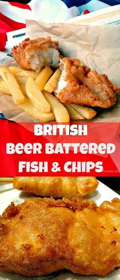 The BEST EVER Beer Battered Fish and Chips! Great flavours and don't forget your shake of vinegar and sprinkle of salt! | Lovefoodies.com via @lovefoodies