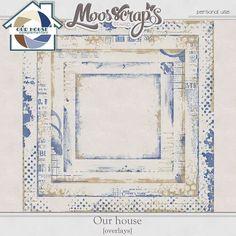 Digital Art :: Element Packs :: Our House - overlays