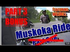 [ CBR500R RIDE ] WildBill Muskoka Ride BONUS Part 3 w/ music