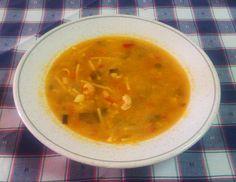Prueba esta sencilla y apetitosa receta de #sopa de fideos a la cazuela, quedarás sorprendido por su tradicional sabor que le proporcionan las #verduras ecológicas y naturales.