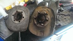 En este motor la culata va roscada al cilindro, independiente del cilindro que va roscado a los carteres.