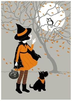 """bookofoctober: """" """"Trick or Treat"""" by Joan Charles """""""