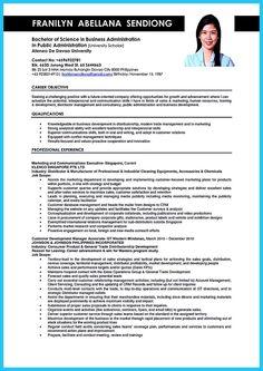 sample resume job description