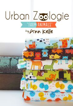 "Urban Zoologie ""farm animals"""
