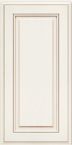 Jackson Maple(AA5M4) Square Dove White W/ Cocoa Glaze - KraftMaid