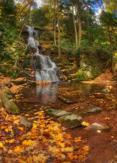 Buttermilk Falls, Stokes State Forest, northwestern New Jersey