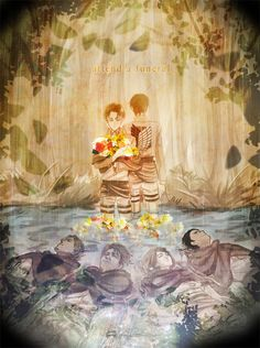 Attend a Funeral ~ Levi and Eren.
