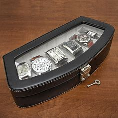 5 piece watch case a well leather and black leather watch 10 of the cheapest personalized gifts for men