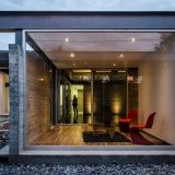 TCH House - Exterior/Looking into the House